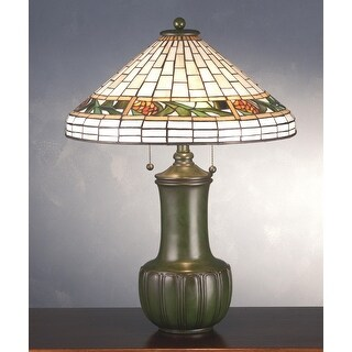 25 Inch H Bungalow Pine Cone Table Lamp