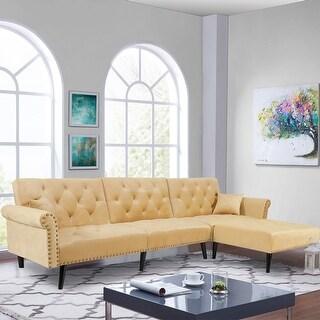Reversible Sectional Sofa Sleeper