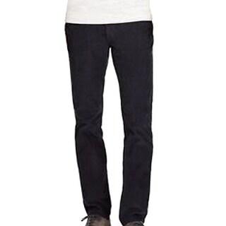 Bonobos NEW Solid Men's Black Size 28X32 Straight Leg Corduroys Pants