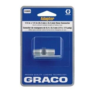 "Graco 243025 Hose Adapter, 1/4"" x 1/4"""