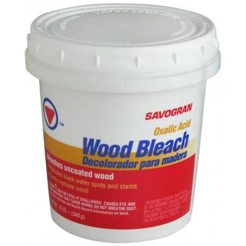 Savogran 10501 Wood Bleach Concentrate Formula, 12 Oz