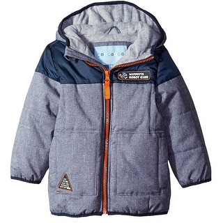 Wippette Toddler Boy Coat Robot Club YD Cire Hooded Winter Puffer Jacket