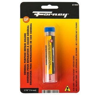 Forney 61402 General Purpose Acid Core Solder, 0.75 Oz