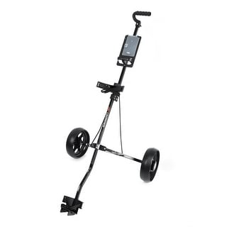 Intech LiteRider 2-Wheel Golf Cart (10-inch wheels, steel frame)