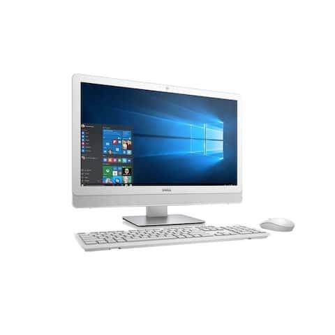 """Dell Inspiron 3275 21.5"""" AMD E2-9000e X2 1.5GHz 4GB 1TB Win10,White(Certified Refurbished)"""