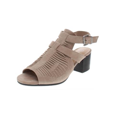 6edbedf72 Bella Vita Womens Finley Slingback Sandals Suede Ankle Strap
