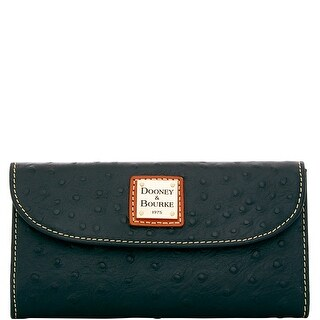 Dooney & Bourke Ostrich Embossed Leather Continental Clutch (Introduced by Dooney & Bourke at $128 in Jul 2015)