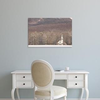 Easy Art Prints Jerry & Marcy Monkman's 'The Wonalancet Union Chapel' Premium Canvas Art