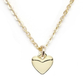 Julieta Jewelry Heart Charm Necklace