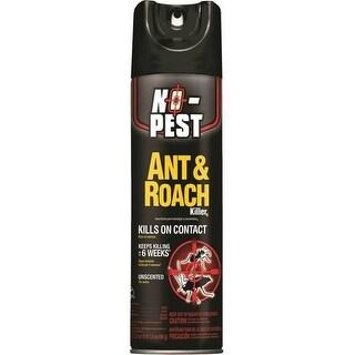 Spectrum HG-41330 No-Pest Ant & Roach Killer, 17.5 oz Aerosol Can, Clear