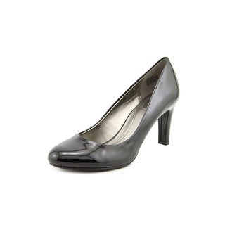 Bandolino Lantana Women Round Toe Synthetic Black Heels