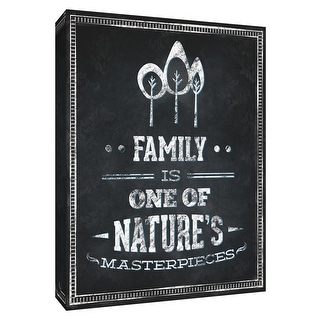"PTM Images 9-154541  PTM Canvas Collection 10"" x 8"" - ""Family Inspiration I"" Giclee Sayings & Quotes Art Print on Canvas"