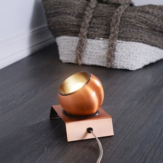 Link to Gilmour 5.25-inch Indoor Adjustable Copper Spotlight Similar Items in Track Lighting