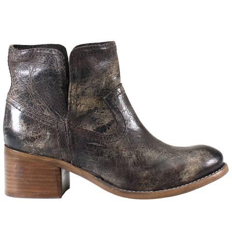 "Diba True Walnut Grove Round Toe Womens Boots Ankle Mid Heel 2-3"""