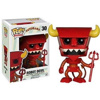 Funko POP TV: Futurama - Robot Devil Action Figure