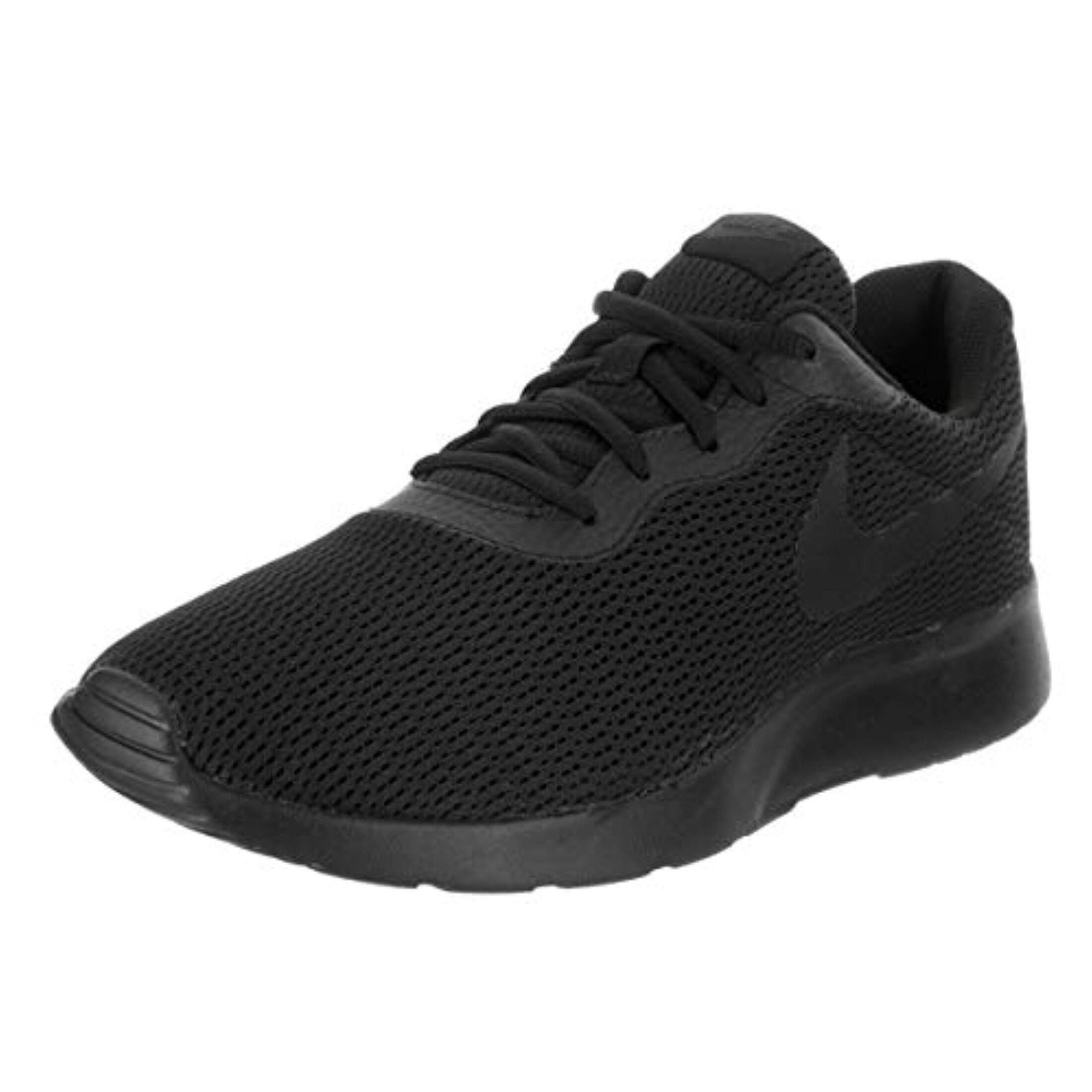 Nike Men's Tanjun Wide (4E) Black/Anthracite/Black Running Shoe 12 4E Men Us