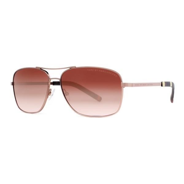 Marc by Marc Jacobs MMJ 342/S ODQ J6 Shiny Brown/Havana Navigator Sunglasses - Shiny Brown - 59mm-14mm-135mm