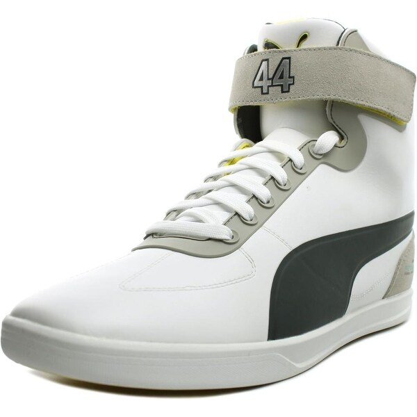 Puma Mamgp Upole Lewis Men White/Dark Shadow/Buttercup Sneakers Shoes