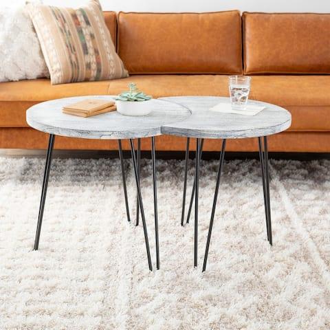 Maisey Mid-Century Coffee Table Set