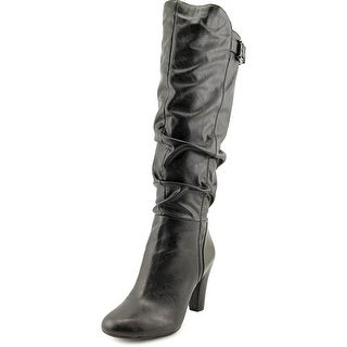 Jessica Simpson Finnegan Women Round Toe Synthetic Black Knee High Boot