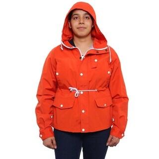 Schott N.Y.C 5 Way Pocket Hardshell Jacket Hardshell Orange