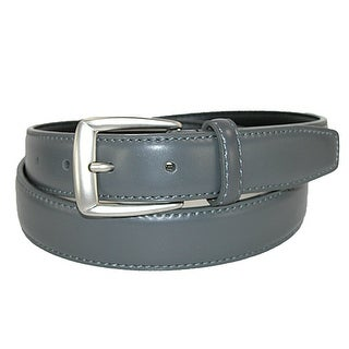 CTM® Men's Leather 1 1/4 inch Basic Dress Belt