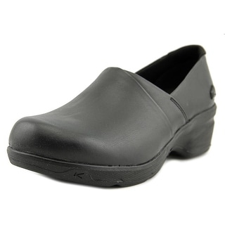 Keen Mora Service Women Round Toe Leather Clogs
