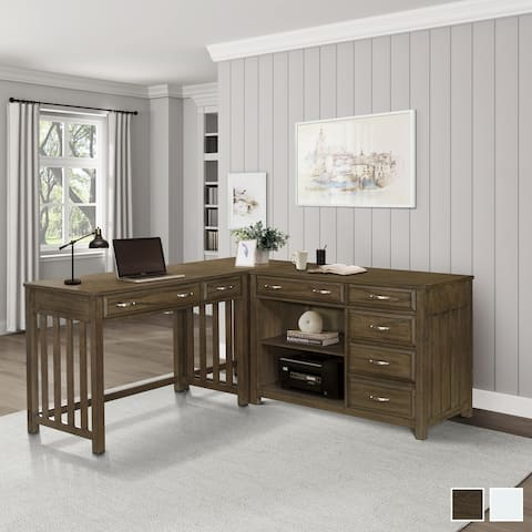 Traine 3-Piece Corner Desk