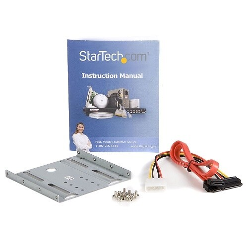 Startech Bracket25sat 2.5In Sata Hard Drive To 3.5In Drive Bay Mounting Kit