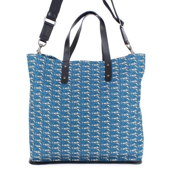 Shop Dolce   Gabbana Dolce   Gabbana Blue denim tote bag - One size ... 0f60f0155ff46