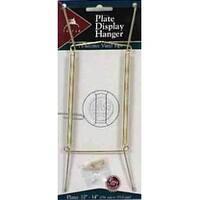 """Tripar 23-1310 Plate Hanger, 10""""-14"""", Brass"""