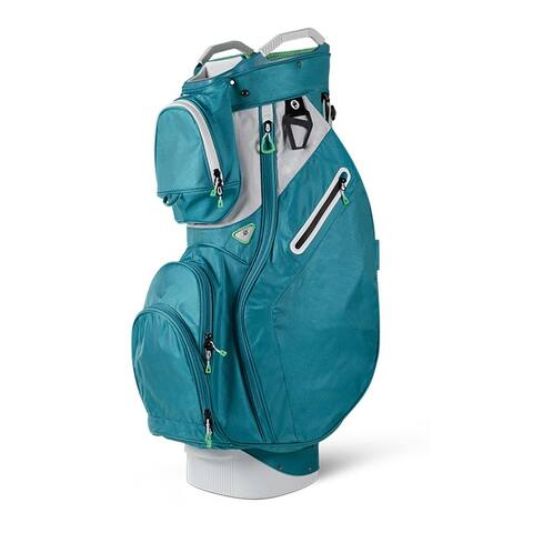 Sun Mountain Ladies Starlet (No Logo) Cart Bag- Tropic / White / Mint -CLOSEOUT - Tropic / White / Mint