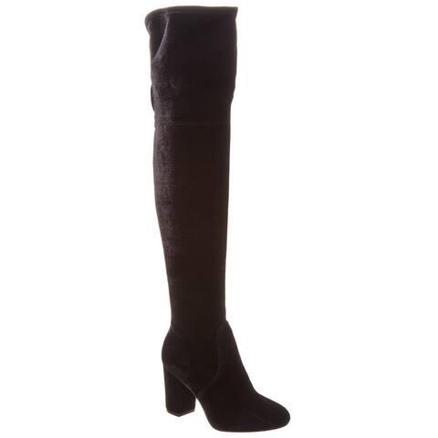 Kenneth Cole New York Abigale Velvet Over-The-Knee Boot