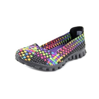 Skechers Flex2-Yes Please Women Round Toe Canvas Multi Color Loafer