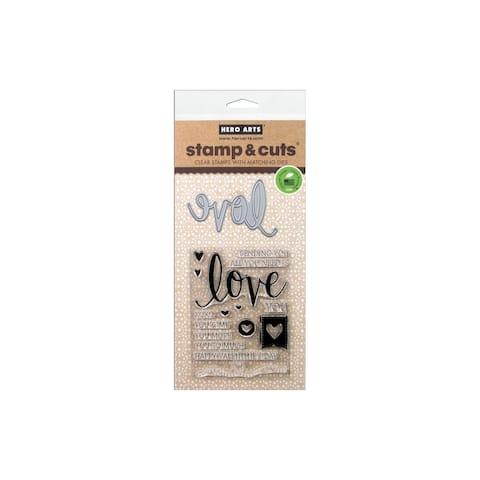 Hero Arts Stamp & Cut Love