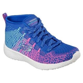 Skechers 81909 BLHP Girl's BURST - SWEET SYMPHONY Sneaker