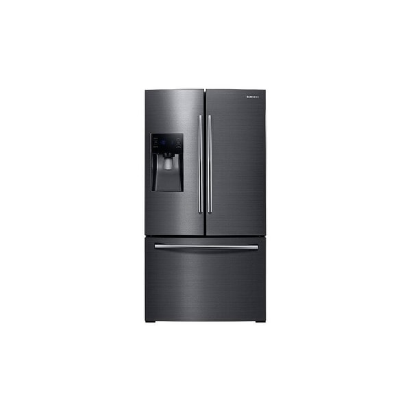 shop samsung rf263beae 36 wide 25 cu ft french door refrigerator rh overstock ca