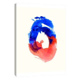 """PTM Images 9-108549  PTM Canvas Collection 10"""" x 8"""" - """"Watercolor Study No.5"""" Giclee Abstract Art Print on Canvas"""