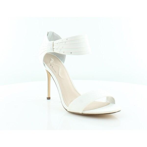 Nina Calina Women's Heels Ivory Lustert - 10