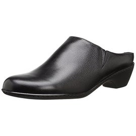 Walking Cradles Womens Cane Leather Heels Mules