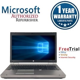 "Refurbished HP EliteBook 8570P 15.6"" Laptop Intel Core i7-3520M 2.9G 8G DDR3 500G DVDRW Win 7 Pro 64-bit 1 Year Warranty"