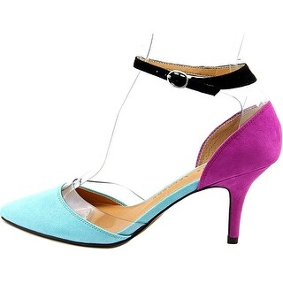 Chinese Laundry Womens Off Limits Pointed Toe Ankle Strap D-orsay Pumps