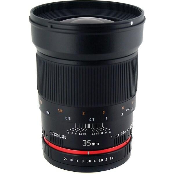 Rokinon 35mm f/1.4 AS UMC Lens for Canon EF - black