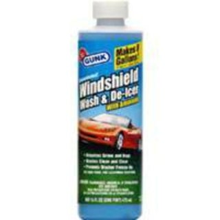 Gunk M516 Windshield Washer Fluid, 16 Oz