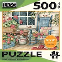 """Jigsaw Puzzle 500 Pieces 24""""X18""""-Rocking Chair"""