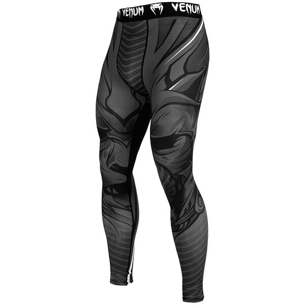 Venum Bloody Roar Durable Dry Tech MMA Compression Spats - Gray