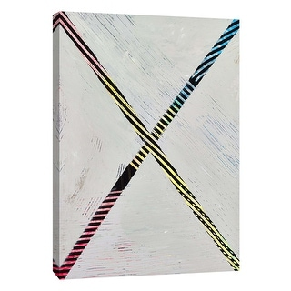 "PTM Images 9-108848  PTM Canvas Collection 10"" x 8"" - ""Lenticular F"" Giclee Abstract Art Print on Canvas"
