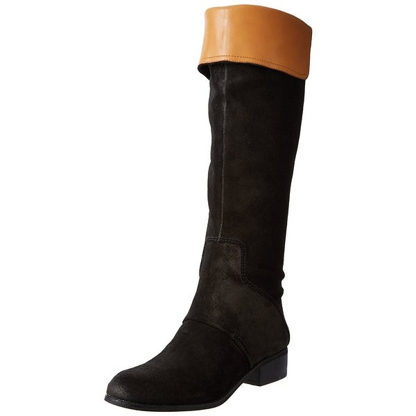 Nine West Women's Niteracer Foldover Knee High Boots - 6