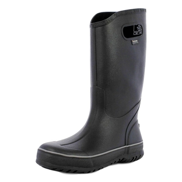 Bogs Boots Mens Rubber Rain Waterproof EVA Bio Grip Black