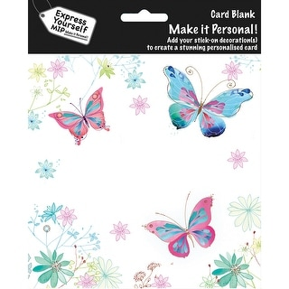 Express Yourself MIP Card-Butterflies
